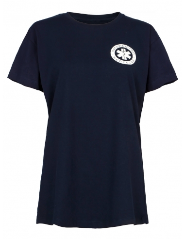 Koszulka ratownicza damska granatowa