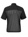 Bluza kucharska męska z siatką na plecach czarna