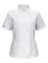 Bluza kucharska damska biała z motywem Muminka