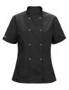 Bluza kucharska damska czarna z motywem Muminka