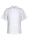 Bluza kucharska męska biała z krótkim rękawem