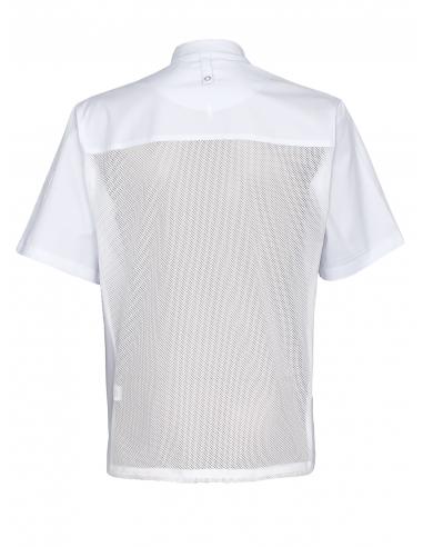 Bluza kucharska męska z siatką na plecach