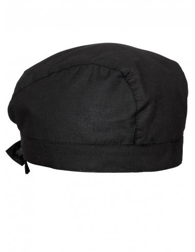 Czapka kucharska bandana czarna