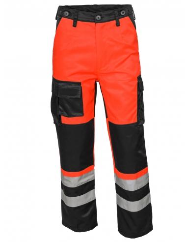 Spodnie ratownicze całoroczne męskie olejo i wodoodporne