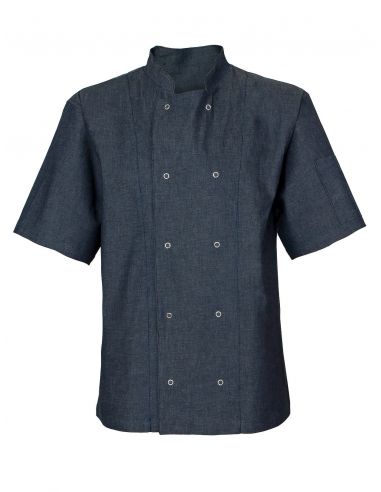 Bluza kucharska jeansowa męska