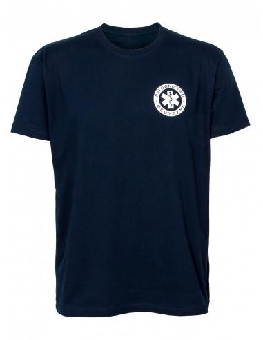 Koszulka ratownicza męska granatowa