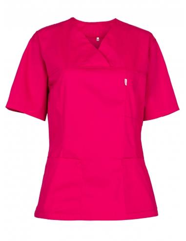 Fartuch bluza ochronna amarantowa różowa